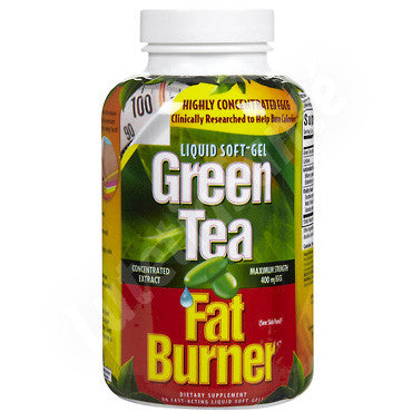 Green Tea Fat Burner - Brûleur de Graisse Naturel au Thé Vert - 200 capsules de Applied Nutrition