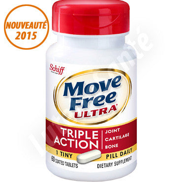 Move Free Ultra Triple Action - 60 tablettes de Schiff