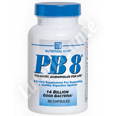 Probiotique Acidophilus PB8 - 60 Capsules de Nutrition Now