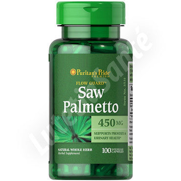 Saw Palmetto bio 450 mg - 100 capsules de Puritan's Pride