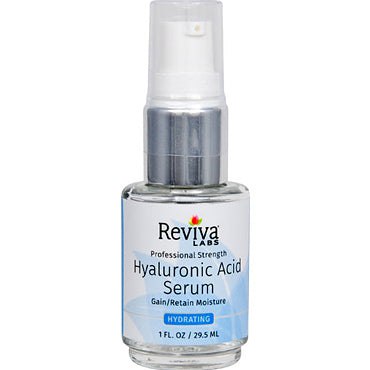 Sérum Acide Hyaluronique - Booster Hydratant - 30 mL de Reviva Labs