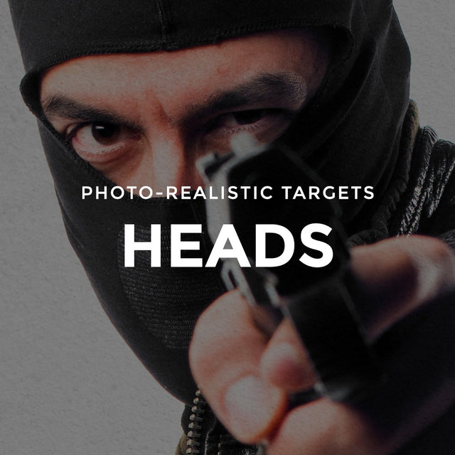 Targets - Shoot / No Shoot Heads