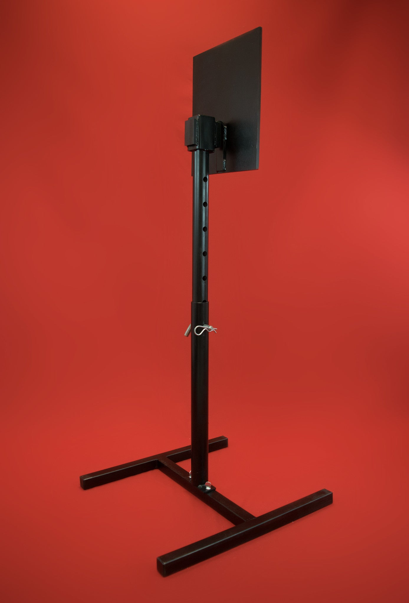 Targabot Adjustable Steel Stand w/ AR500 Plate