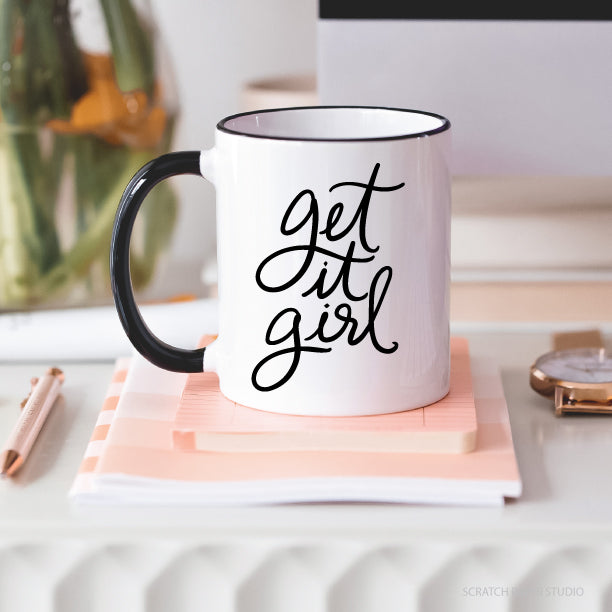 Get It Girl Ceramic Mug