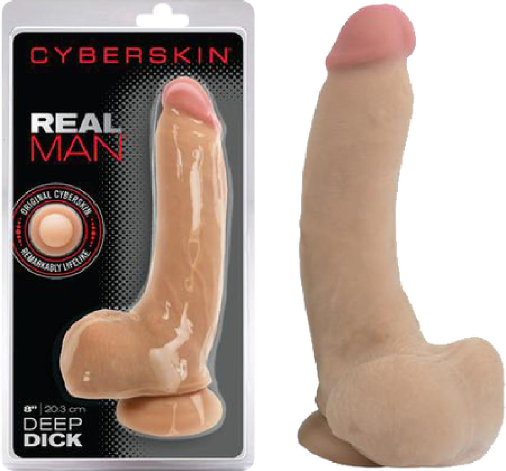 Real Man Deep Dick (Flesh)
