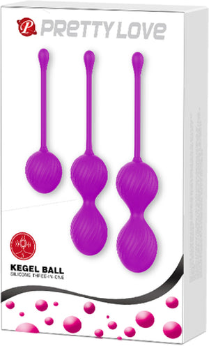 Kegel Ball Kit (Purple)
