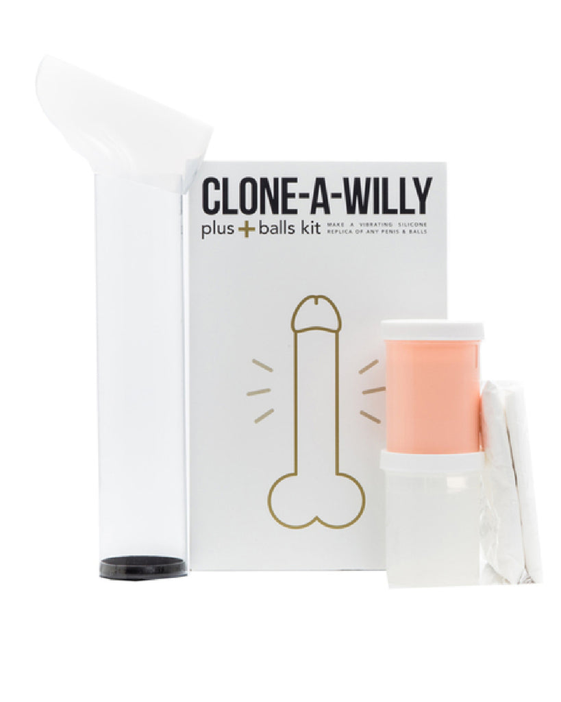 Clone-A-Willy Plus With Balls (Light Tone)