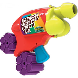 Rainbow Pecker Party Confetti Gun