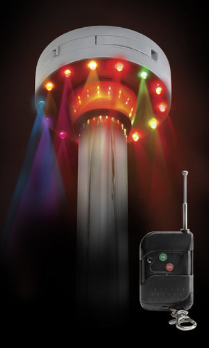 Fetish Fantasy Series Light-Up Disco Dance Pole - Multi