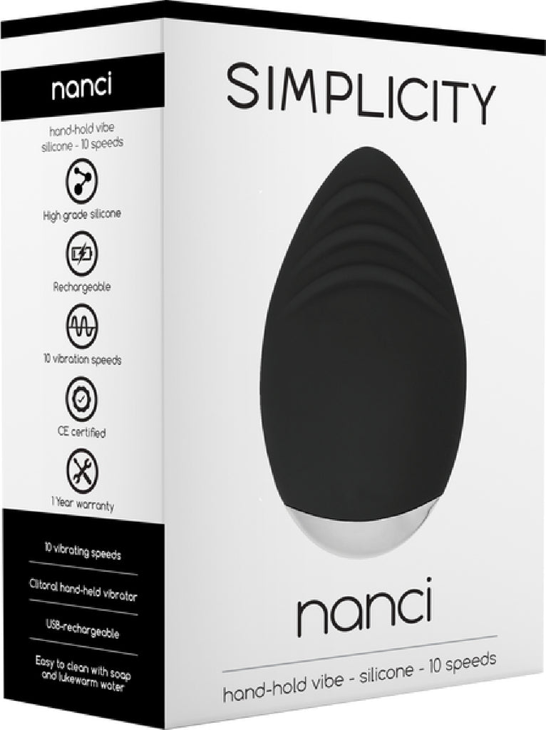 NANCI Hand-Hold Vibe (Black)