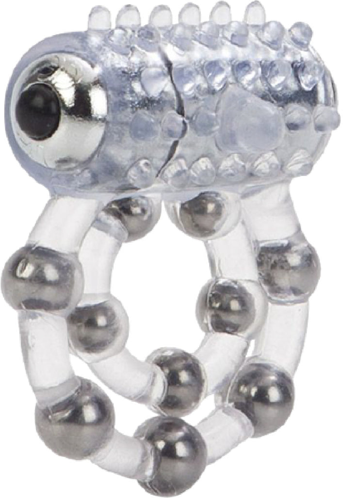 Waterproof Maximus Enhancment Ring - 10 Beads (Clear)