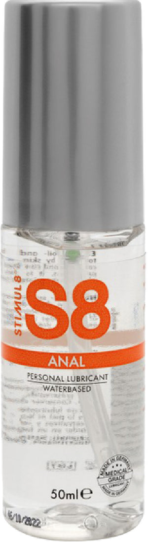 S8 WB Anal Lube 50ml