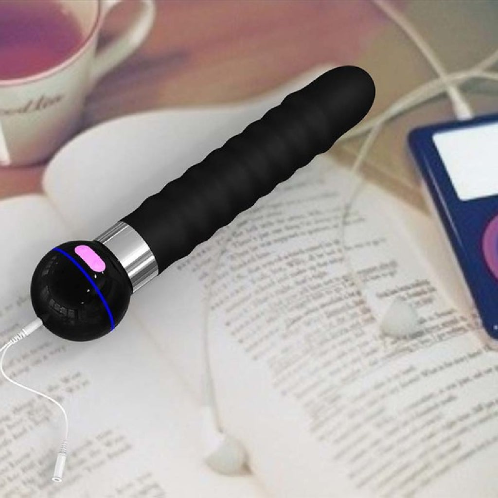 Touch Silicone Body Wand (Black)