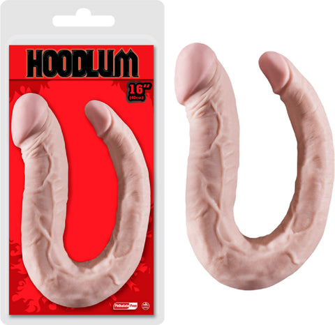 "16"" Thin Double Dong (Flesh)"