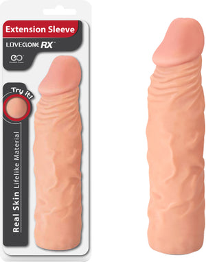 "8"" Extension Sleeve (Flesh)"