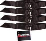 Tie Down Restraints (Black)