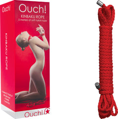 Kinbaku Rope - 5m (Red)
