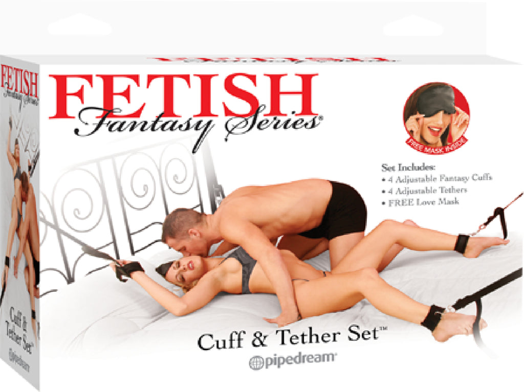 Cuff & Tether Set (Black)