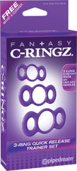 3-Ring Quick Release Trainer (Lavender)