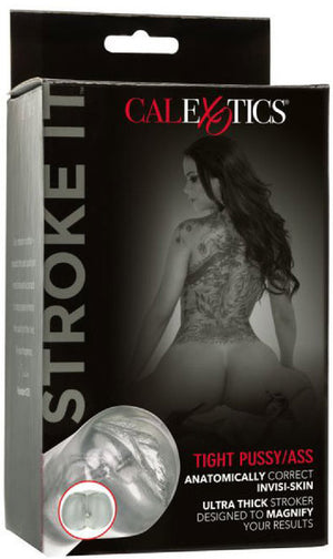 Stroke It - Tight Pussy/Ass (Clear)