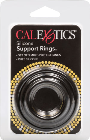 Silicone Support Rings (Black)