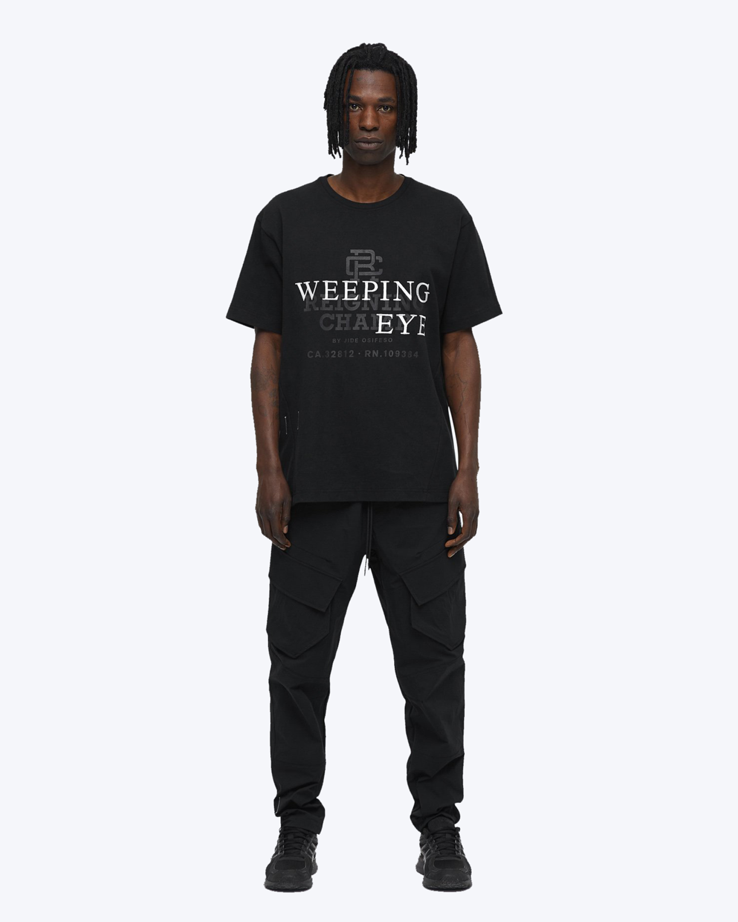 Weeping Eye T-Shirt, Black