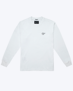 HEAVYWEIGHT JERSEY NOTE LONG SLEEVE, WHITE