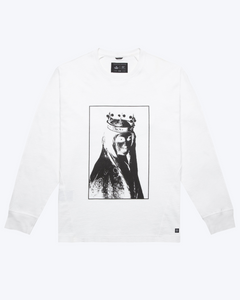 Weeping Eye Long Sleeve T-Shirt, White