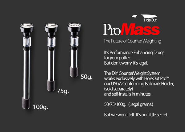 ProMass™ CounterWeight System