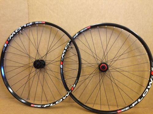 "Stan's NoTubes Flow EX Wheelset 29"" 20/15mm front 142/12 rear mountain enduro"