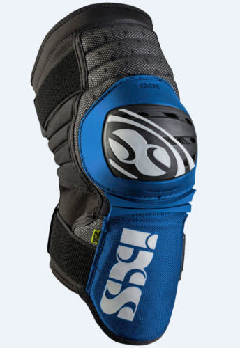 IXS Dagger knee/shin guard LARGE BLUE downhill park jumping DH