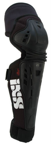 IXS Assault knee/shin guard LARGE BLACK downhill park jumping DH