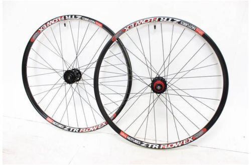 "Stan's NoTubes Flow EX Wheelset 27.5"" 20/15mm front 142/12 rear mountain enduro"