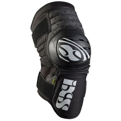 IXS Dagger knee/shin guard LARGE BLACK downhill park jumping DH