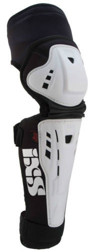 IXS Assault knee/shin guard LARGE WHITE downhill park jumping DH