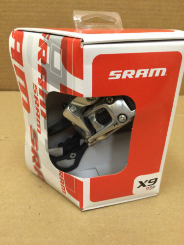 Sram X9 rear derailleur 9spd MEDIUM 1:1 actuation XC trail enduro