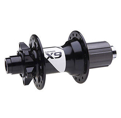 SRAM X9 rear hub 32H 6b-DISC 12x142mm 10spd