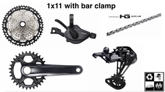 Shimano XT M8100 1x12 drivetrain kit 5-peice (many options) **FREE SHIP**