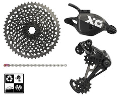 Sram X01 Eagle 4-peice mini-group 1x12 10-50T drivetrain **FREE SHIP**