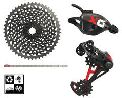Sram X01 Eagle 4-peice mini-group 1x12 10-50T drivetrain RED **FREE SHIP** deal for KimD