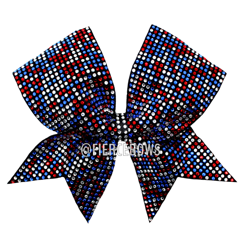 All In Multicolor Bow