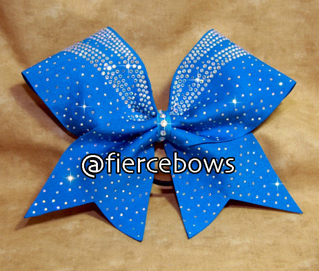 Faith AB Rhinestone Cheer Bow