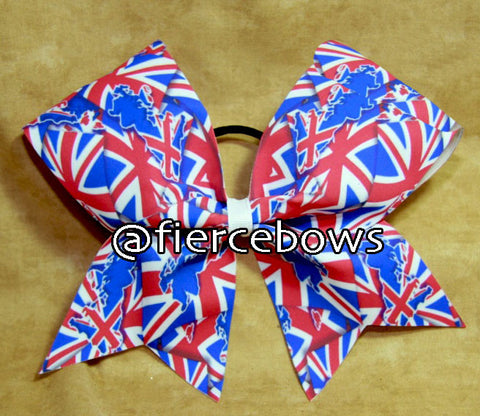 British Flag Mash Up Bow