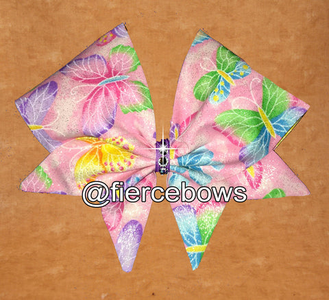 Butterfly Fluttery Hand Sewn Bow