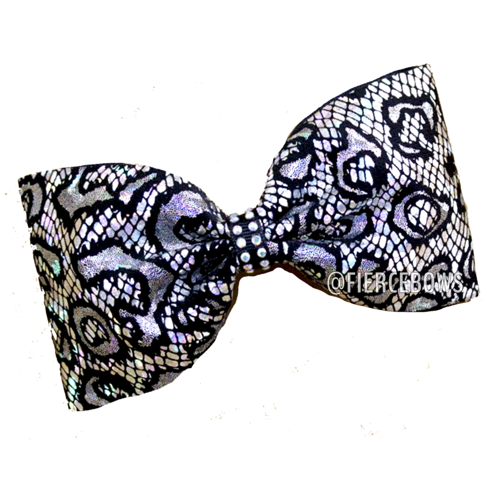 Cheetah Lace Tailless Bow