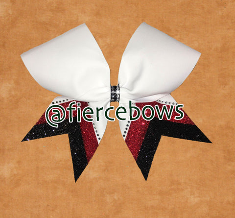 Ace It!  Rhinestone Bow