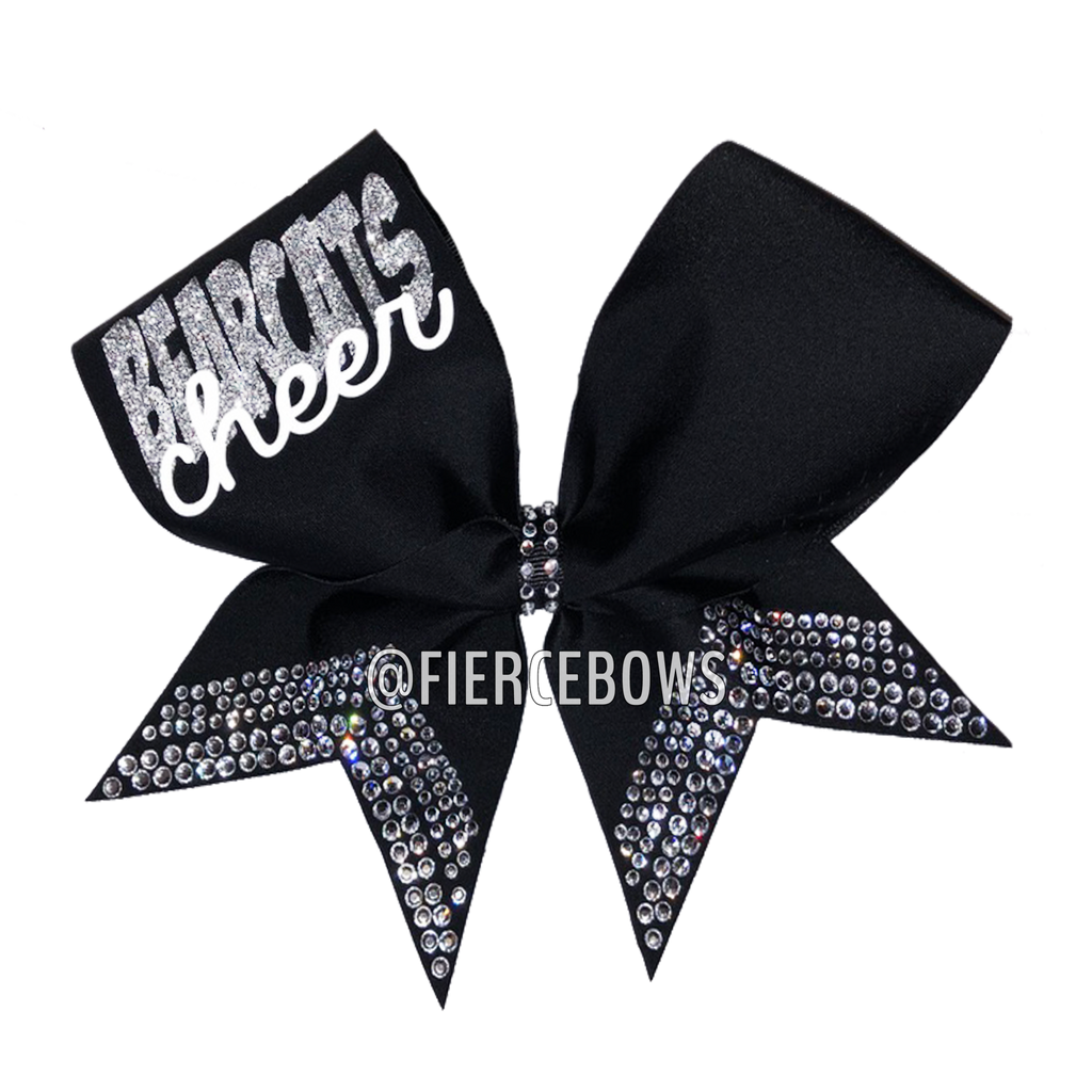 Game Day Rhinestone Bow