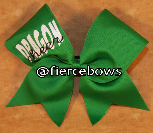 Simple Game Day or Practice Cheer Bow