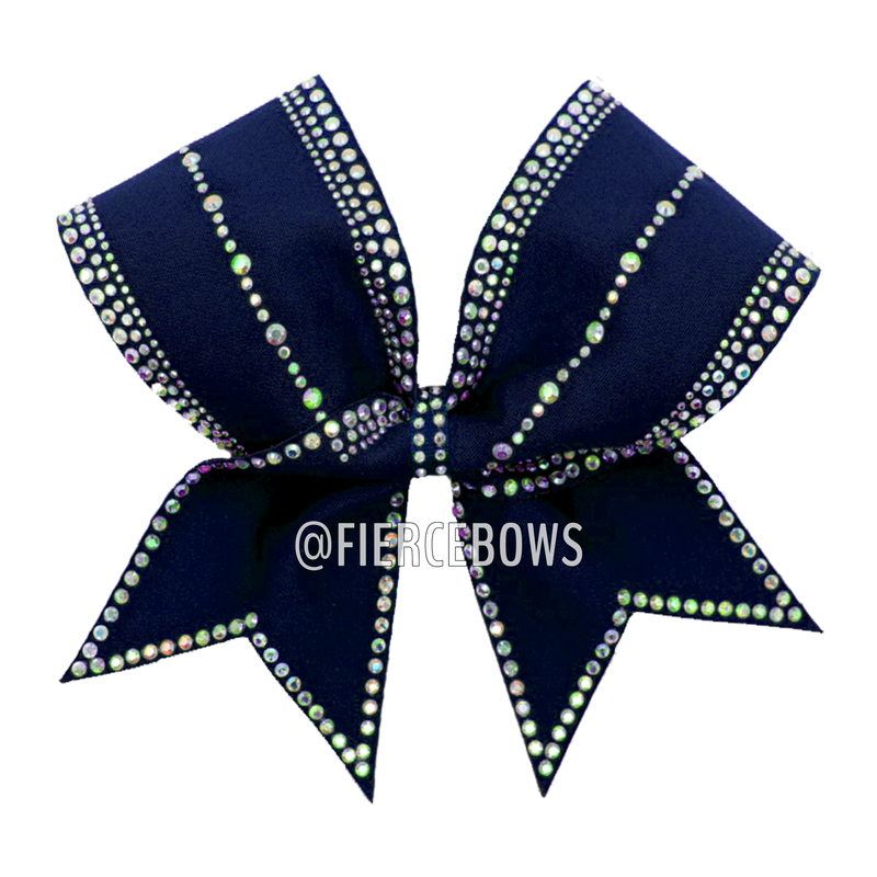 Girl Boss Rhinestone Bow