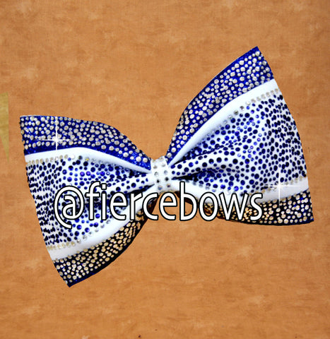 Happy Days Rhinestone Tailless Bow